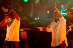 "NAS & Damian ""Jr. Gong"" Marley perform at The Cosmopolitan of Las Vegas in Las Vegas, NV on April 16, 2011"