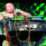 LAS VEGAS, NV - SEPTEMBER 25: Dan Deacon performs onstage during day 1 of the 2015 Life Is Beautiful Festival on September 25, 2015 in Las Vegas, Nevada. (Photo by FilmMagic/FilmMagic)