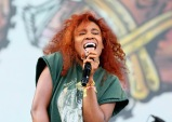 LAS VEGAS, NV - SEPTEMBER 25: SZA performs onstage during day 1 of the 2015 Life Is Beautiful Festival on September 25, 2015 in Las Vegas, Nevada. (Photo by FilmMagic/FilmMagic)