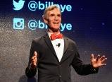 LAS VEGAS, NV - SEPTEMBER 25: Educator Bill Nye speaks onstage during day 1 of the 2015 Life Is Beautiful Festival on September 25, 2015 in Las Vegas, Nevada. (Photo by Jeff Kravitz/FilmMagic)