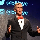 LAS VEGAS, NV - SEPTEMBER 25: Educator Bill Nye speaks onstage during day 1 of the 2015 Life Is Beautiful Festival on September 25, 2015 in Las Vegas, Nevada. (Photo by Jeff Kravitz/FilmMagic)