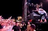 LAS VEGAS, NV - SEPTEMBER 25: Singer Tyler Joseph of Twenty One Pilots performs onstage during day 1 of the 2015 Life Is Beautiful Festival on September 25, 2015 in Las Vegas, Nevada. (Photo by Jeff Kravitz/FilmMagic)