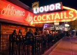 LAS VEGAS, NV - SEPTEMBER 25: Atomic Liquors during day 1 of the 2015 Life Is Beautiful Festival on September 25, 2015 in Las Vegas, Nevada. (Photo by Jeff Kravitz/FilmMagic)