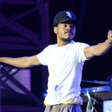 LAS VEGAS, NV - SEPTEMBER 26: Chance the Rapper performs onstage during day 2 of the 2015 Life Is Beautiful Festival on September 26, 2015 in Las Vegas, Nevada. (Photo by Jeff Kravitz/FilmMagic)